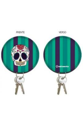 chaveiro-porta-chaves-caiceira-mexicanachaveiro-porta-chaves-caveira-mexicana