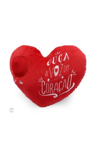 Almofada Gravadora Voz do Coração