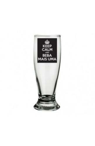 Tulipa de Cerveja Keep Calm