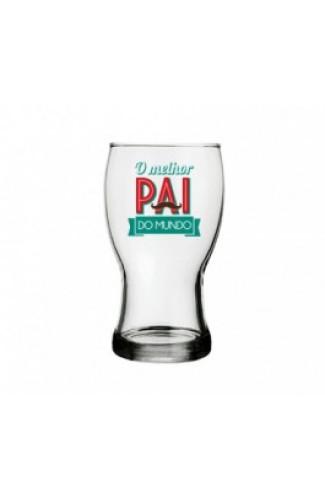 Copo de Cerveja Melhor Pai do Mundo