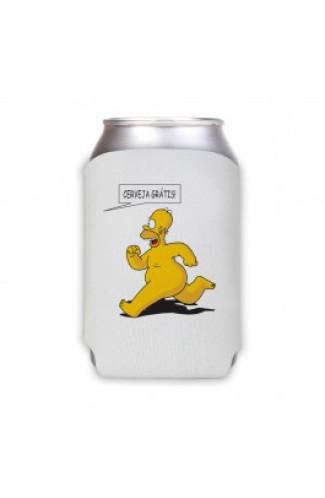 Porta Lata Cerveja Gratis Homer