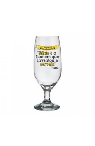 Taça de Cerveja Momento Sabedoria - Platão