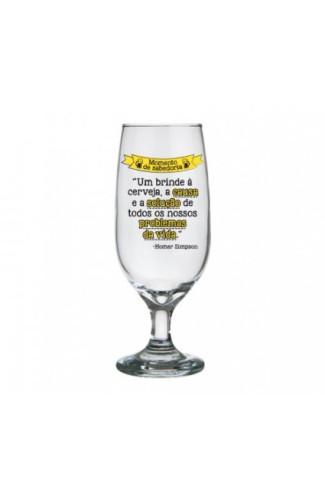 Taça de Cerveja Momento Saberoria - Homer