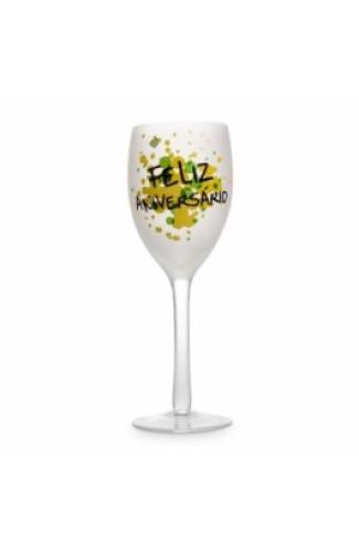 Taça Jateada Vinho